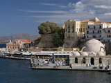 The 16Th Century Venetian Harbor, Hania, Crete, Greek Islands, Greece, Europe Photographic Print