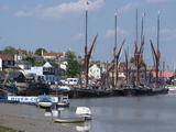 Maldon, a Blackwater Estuary Town Known For Its Thames Sailing Barges, Essex, England, Uk Photographic Print