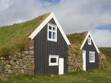 Od Traditional Farm, Skaftafell, Iceland, Polar Regions Photographic Print