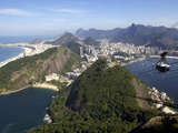 View Over Rio De Janeiro From the Sugarloaf Mountain, Rio De Janeiro, Brazil, South America Photographic Print by Olivier Goujon