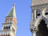 The Campanile and Doge's Palace, St. Mark's Square, Venice, Veneto, Italy Photographic Print by Amanda Hall