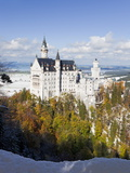Neuschwanstein Castle, Bavaria, Germany, Europe Photographic Print