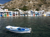 The Village of Klima, Island of Milos, Cyclades, Greek Islands, Greece, Europe Photographic Print