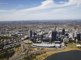 Aerial View of Downtown Perth, Western Australia, Australia, Pacific Photographic Print