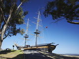 Full-Scale Replica of Brig Amity, Albany, Western Australia, Australia, Pacific Photographic Print by Ian Trower