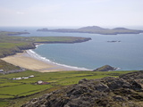 Ramsey Island, Whitesands Bay and St. Davids Head From Carn Llidi, Pembrokeshire National Park Photographic Print by Peter Barritt