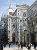 The Duomo (Cathedral) With Snow During Winter, Florence (Firenze), Tuscany, Italy Photographic Print