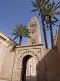 The Koutoubia Mosque (Booksellers' Mosque), the Landmark of Marrakech, Morocco Photographic Print