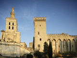 Cathedral and Palais Des Papes, UNESCO World Heritage Site, Avignon, Vaucluse, France, Europe Photographic Print