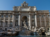 Trevi Fountain, Rome, Lazio, Italy, Europe Photographic Print