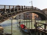 Accademia Bridge, Grand Canal, Venice, UNESCO World Heritage Site, Veneto, Italy, Europe Photographic Print by Amanda Hall
