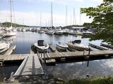 Yachts in Marina, Leangbukta, Oslofjord, Norway, Scandinavia, Europe Photographic Print