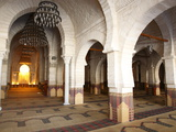 Prayer Hall of the Great Mosque, Medina, Sousse, Tunisia, North Africa, Africa Photographic Print by Dallas & John Heaton