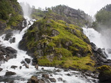 Latefoss Waterfalls, Odda, Hordaland, Norway, Scandinavia, Europe Photographic Print by Marco Cristofori
