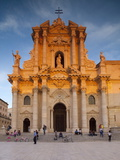 Piazza Duomo, Ortiga, Siracusa, Sicily, Italy, Europe Photographic Print by John Miller