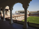 Diwam-I-Khas (Hall of Private Audiences) in Agra Fort, Agra, Uttar Pradesh, India Photographic Print by Ian Trower