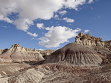 Badlands, Petrified Forest National Park, Arizona, United States of America, North America Photographic Print by James Hager
