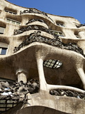 Casa Mila, Barcelona, Catalonia, Spain, Europe Photographic Print by Mark Mawson