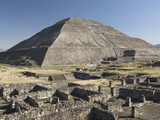 Temple of the Sun, Archaeological Zone of Teotihuacan, UNESCO World Heritage Site, Mexico Photographic Print