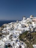 Oia, Santorini, Cyclades, Greek Islands, Greece, Europe Photographic Print