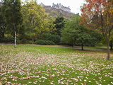 Princes Street Gardens and Edinburgh Castle, Edinburgh, Lothian, Scotland, Uk Photographic Print by Amanda Hall