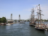 Tall Ships, Portsmouth, New Hampshire, New England, United States of America, North America Photographic Print by Wendy Connett