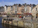 Old Harbor in Honfleur, Normandy, France, Europe Photographic Print