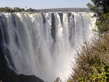 Main Falls, Victoria Falls, UNESCO World Heritage Site, Zimbabwe, Africa Lmina fotogrfica
