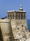 Lighthouse in Medina Sidonia (Old Town) District, Melilla, Spain, Spanish North Africa, Africa Photographic Print