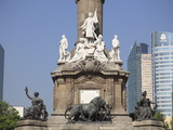 Independence Monument, Paseo De La Reforma, Mexico City, Mexico, North America Photographic Print by Wendy Connett