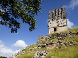 El Mirador (Watch Tower) (Observator), Mayan Ruins, Labna, Yucatan, Mexico, North America Photographic Print by Balan Madhavan