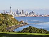 Okahu Bay and Skyline, Auckland, North Island, New Zealand, Pacific Photographic Print