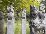 Ancient Sculptures in Grounds of Nanjing Museum, Nanjing, Jiangsu, China, Asia Photographic Print by Ian Trower