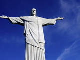The Christ of Corcovado, Rio De Janeiro, Brazil, South America Photographic Print by Olivier Goujon