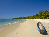 White Sand Beach at the Ile Aux Nates (Nosy Nata), Near Ile Sainte Marie, Madagascar, Indian Ocean Photographic Print