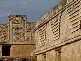 The Nunnery Quadrangle, Uxmal, UNESCO World Heritage Site, Yucatan, Mexico, North America Photographic Print by Balan Madhavan