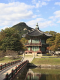 Gyeongbokgung Palace (Palace of Shining Happiness), Seoul, South Korea, Asia Photographic Print