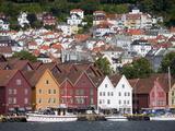 Bryggen, UNESCO World Heritage Site, Bergen, Hordaland, Norway, Scandinavia, Europe Photographic Print by Marco Cristofori