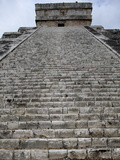 Kukulkan Pyramid, Mesoamerican Step Pyramid Nicknamed El Castillo, Chichen Itza, Yucatan, Mexico Photographic Print
