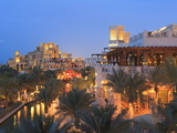 Arabesque Architecture of the Madinat Jumeirah Hotel at Dusk, Jumeirah Beach, Dubai, Uae Photographic Print