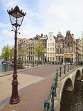 Keizersgracht, Amsterdam, Netherlands, Europe Photographic Print
