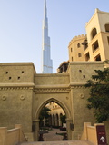 Downtown District With the Burj Khalifa and Palace Hotel, Dubai, United Arab Emirates, Middle East Photographic Print