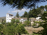 Generalife, Alhambra Palace, UNESCO World Heritage Site, Granada, Andalucia, Spain, Europe Photographic Print