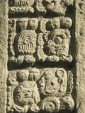 Stela A Dating From 731 AD, Copan Archaeological Park, UNESCO World Heritage Site, Honduras Photographic Print