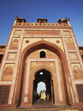 Shahi Darwaza, Fatehpur Sikri, UNESCO World Heritage Site, Uttar Pradesh, India, Asia Photographic Print by Ian Trower