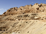 Troglodyte Cave Dwellings, Hillside Berber Village of Chenini, Tunisia, North Africa, Africa Photographic Print by Dallas &amp; John Heaton