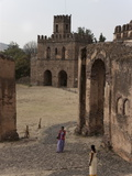 The Fasilides Castle, Gondar, Ethiopia, Africa Photographic Print by Angelo Cavalli