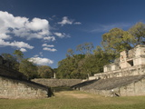 Ball Court, Copan Archaeological Park, UNESCO World Heritage Site, Copan, Honduras, Central America Photographic Print