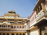 Chandra Mahal, City Palace, Jaipur, Rajasthan, India, Asia Photographic Print by Ian Trower