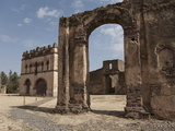 The Fasilides Castle, Gondar, Ethiopia, Africa Photographic Print